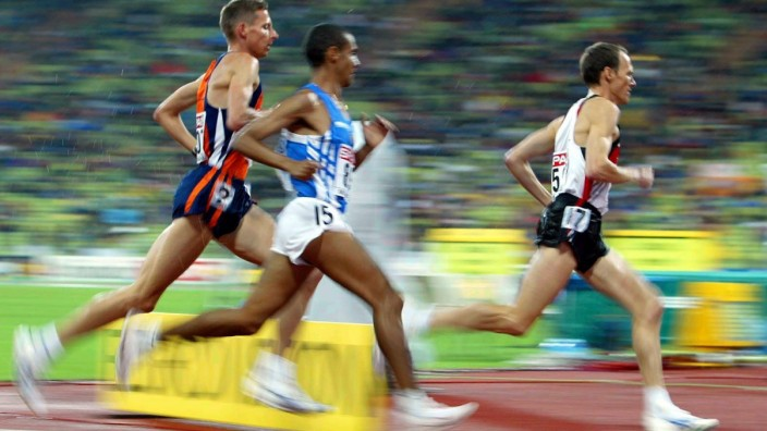 Leichtathletik EM 10 000m Dieter Baumann