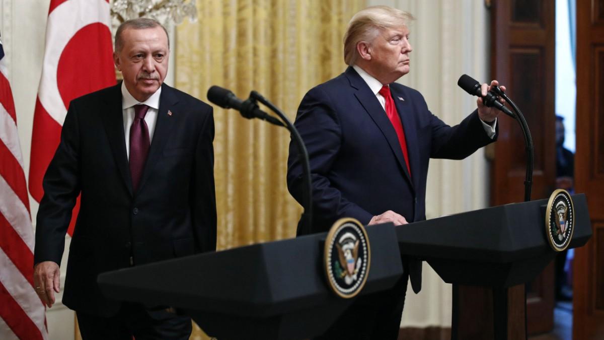 Trump lobt sein Verhältnis zu Erdoğan