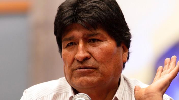 Ex-Präsident Morales im mexikanischen Exil