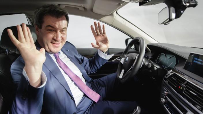 Markus Söder Fahrverbote für Diesel-Autos