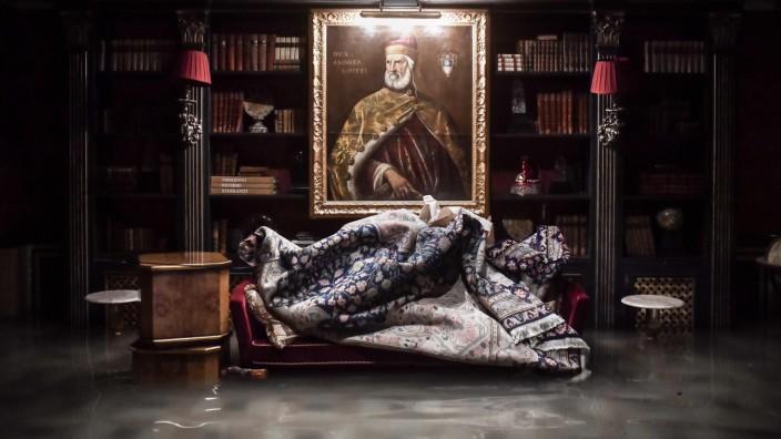"""Hochwasser in Venedig: Das überflutete """"Palazzo Gritti"""" 2019"""