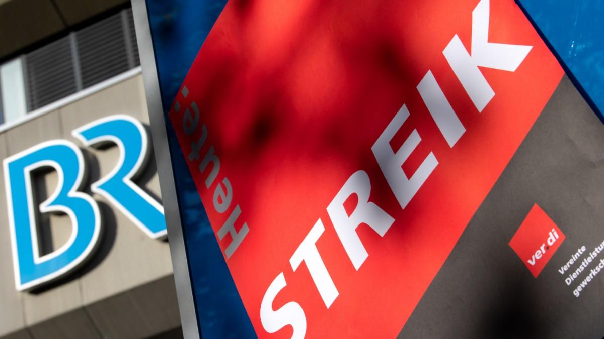 Streik macht sich im BR-Programm bemerkbar