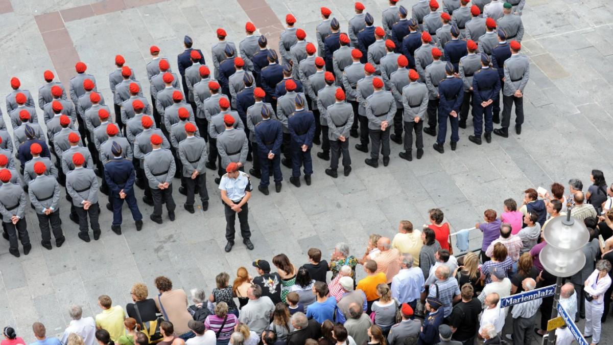 München: Proteste gegen Gelöbnis angekündigt