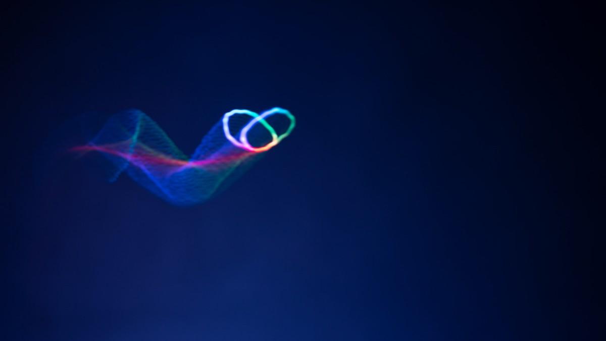 Physik - Ein Hologramm, das auf Schallwellen tanzt