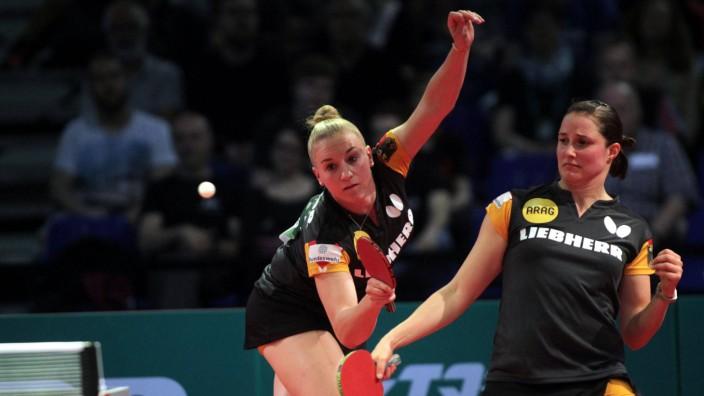 24 04 2019 Budapest Hungary Liebherr 2019 ITTF world senior championships Table tennis Tischtennis