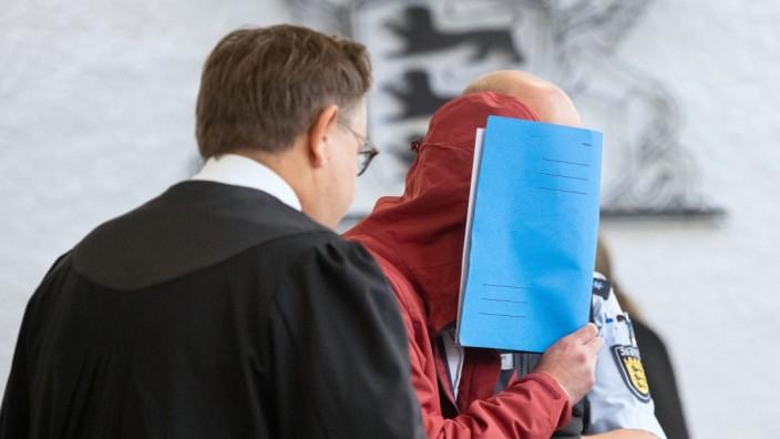 Raser-Prozess in Stuttgart: Mert T. im Gerichtssaal