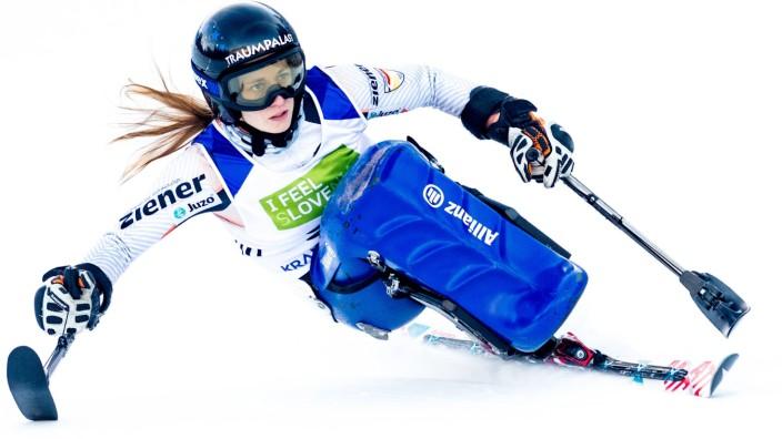 Anna Schaffelhuber LW 10 2 sitzend TSV Bayerbach Giant Slalom Female at the World Para Alpine Sk; Anna Schaffelhuber