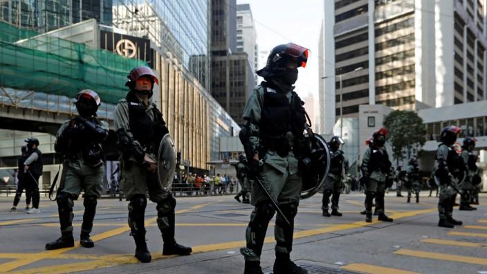 Deutsche Austauschstudenten in Hongkong festgenommen