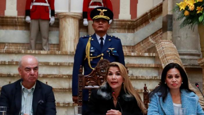 Bolivien Jeanine Àñez