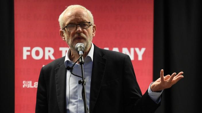 Großbritannien Corbyn Wahlkampf