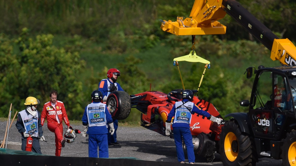 Ferrari schießt sich selbst ab
