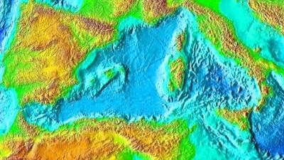 Meerenge Von Gibraltar Karte.Das Trockene Mittelmeer Verstopfung Bei Gibraltar Wissen