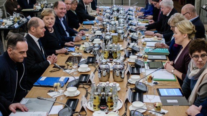 Government Cabinet Holds Two-Day Retreat At Meseberg