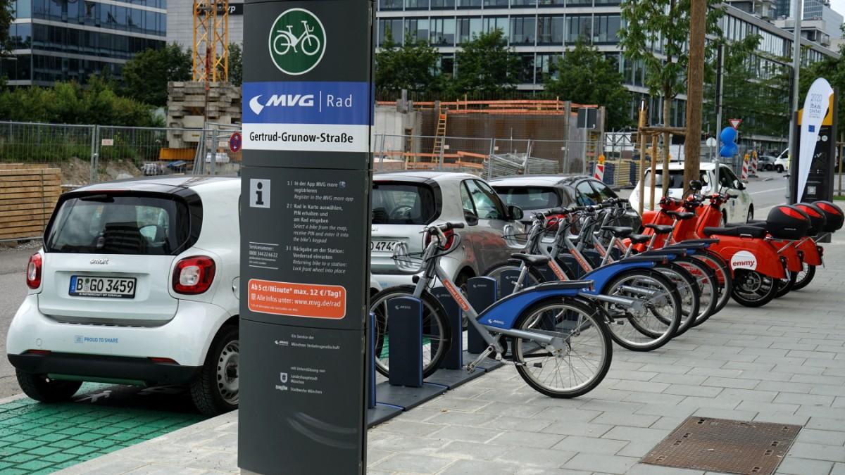Mobilität - In Germering gibt es bald Leihräder - Süddeutsche Zeitung
