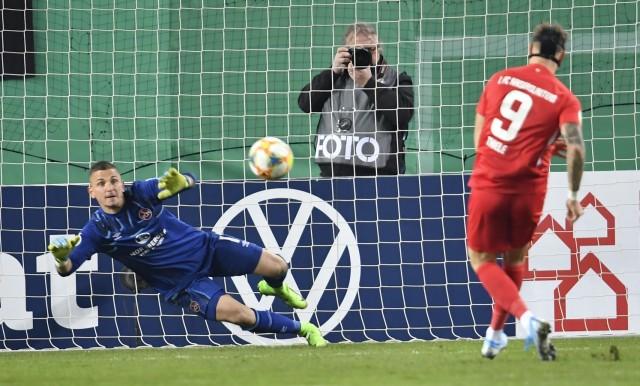 30.10.2019 - Fussball - Saison 2019 2020 - DFB Pokal Vereinspokal - 02. Runde: 1. FC Kaiserslautern FCK ( Rote Teufel )