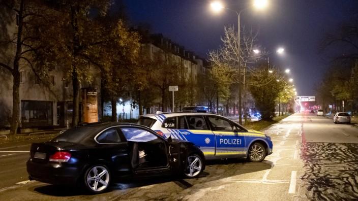 Tödlicher Raserunfall in München auf der Fürstenrieder Straße
