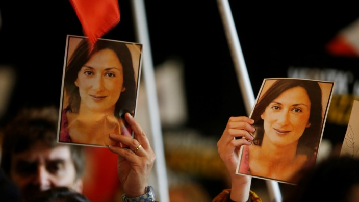 Festnahme wegen Journalistenmordes in Malta