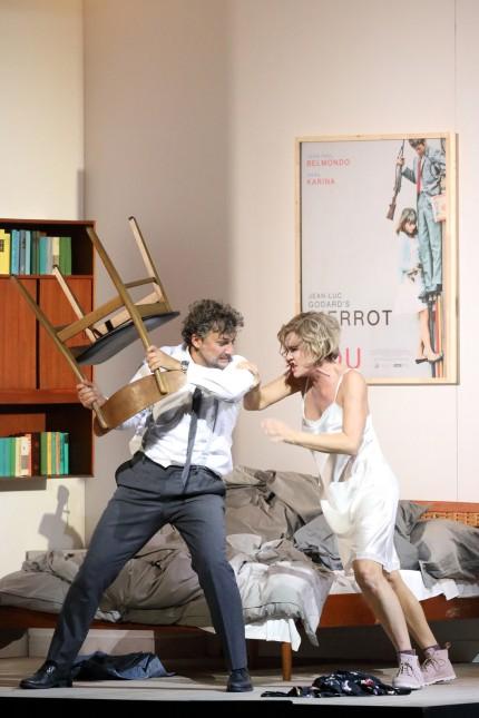 Die tote Stadt: Jonas Kaufmann (Paul), Marlis Petersen (Marietta)