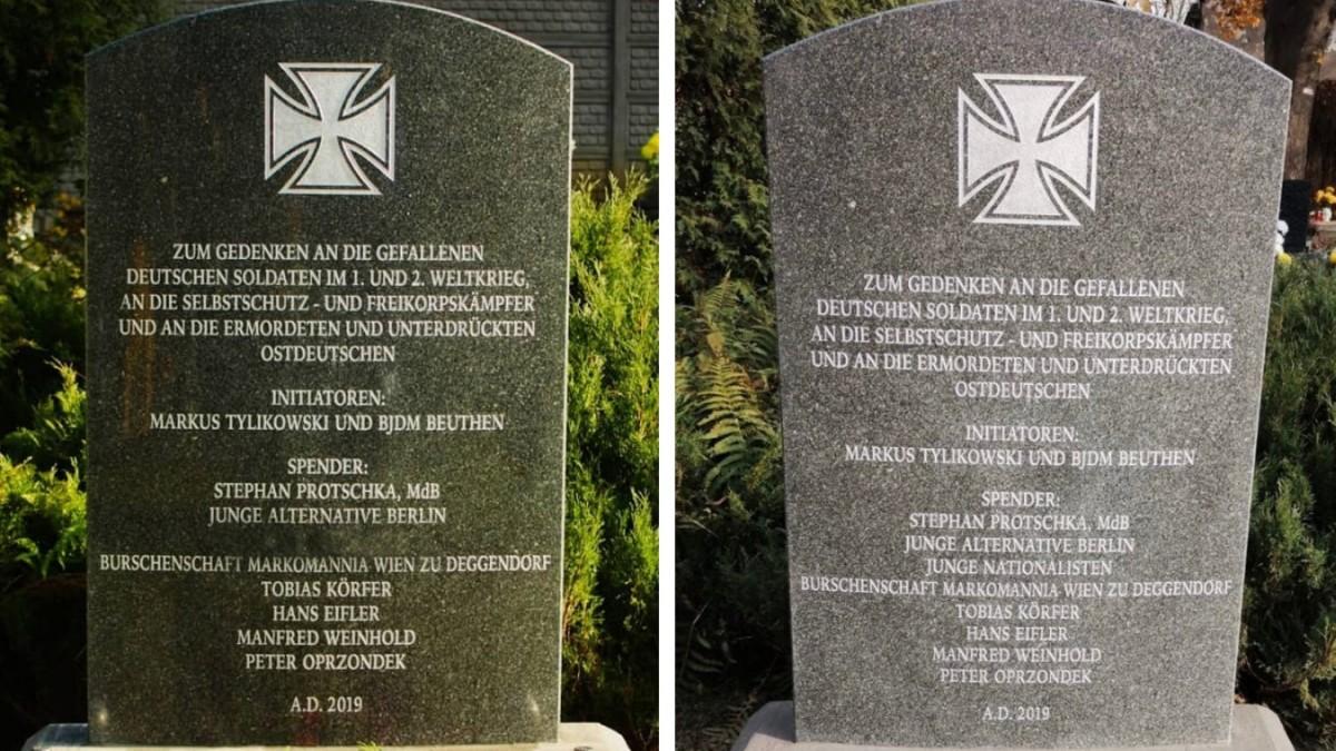 AfD in Bayern: Streit um Gedenkstein in Polen