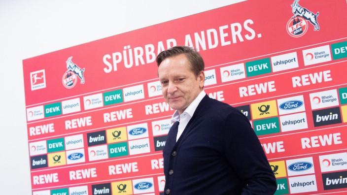 1. FC Köln - Vorstellung Gisdol und Heldt