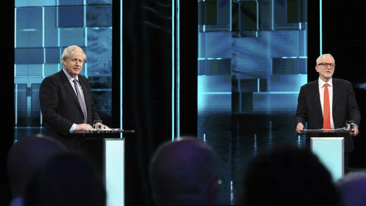 TV-Duell vor Wahl: Johnson entschlossen