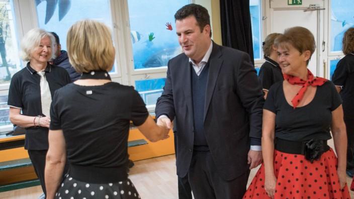 Bundesarbeitsminister Heil besucht Mehrgenerationenhaus