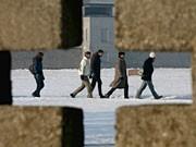 Sachsenhausen, Holocaustgedenktag, ddp
