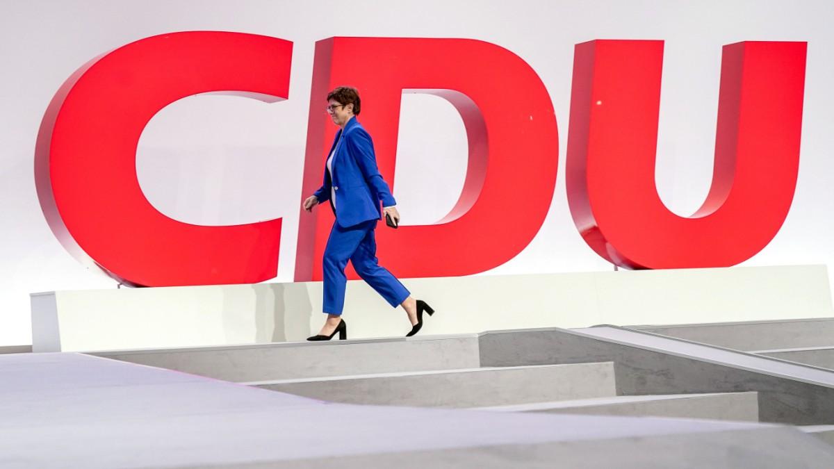 CDU-Parteitag: Neuanfang unter Schmerzen