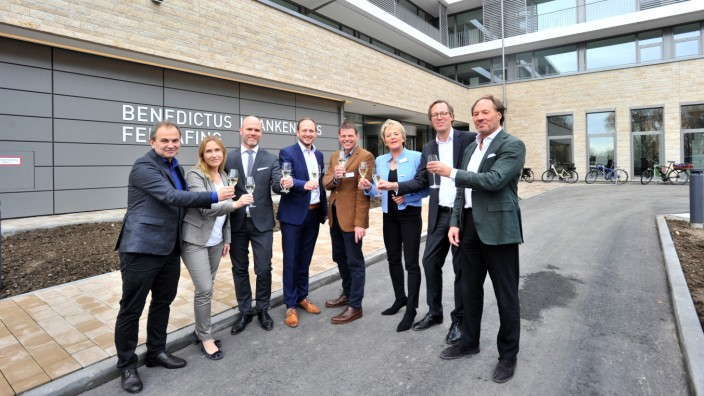 Feldafing: Eröffnung Benediktus Rehakrankenhaus