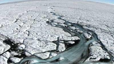 Eisschwund am Nordpol