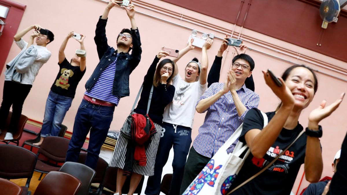 Hongkong – Stärkung des Protest-Lagers