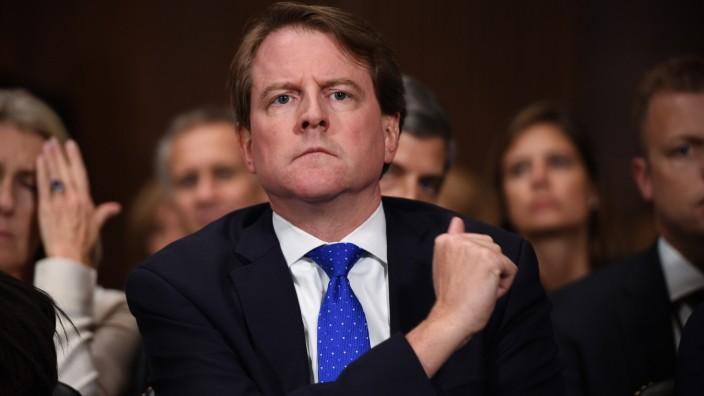 Don McGahn, Ex-Berater von US-Präsident Donald Trump
