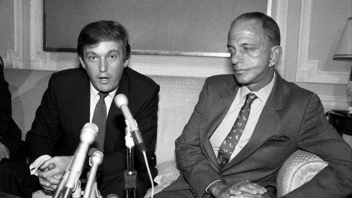 Donald Trump Roy Cohn