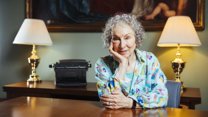 Margaret Atwood Portrait Session