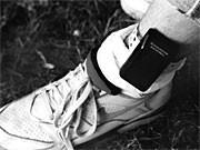Elektronische Fußfessel; dpa