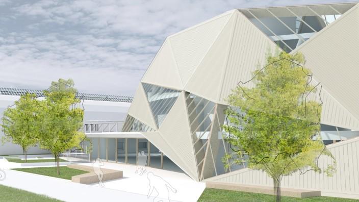 Das neue Actionsportzentrum in Pasing.