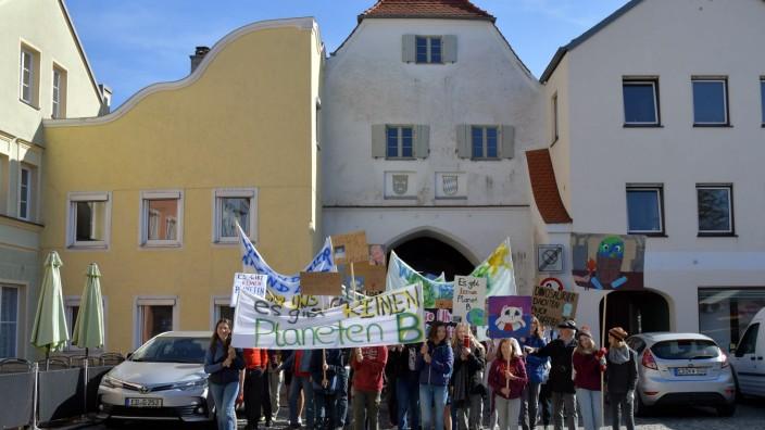 Klimaprotesttag in Dorfen, 2019