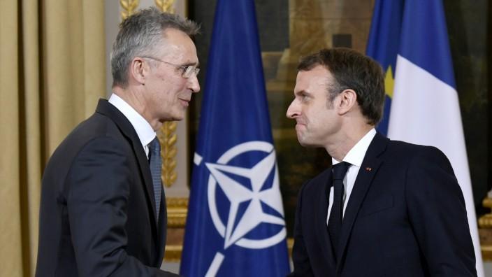Nach Nato-Kritik: Erdogan attestiert Macron