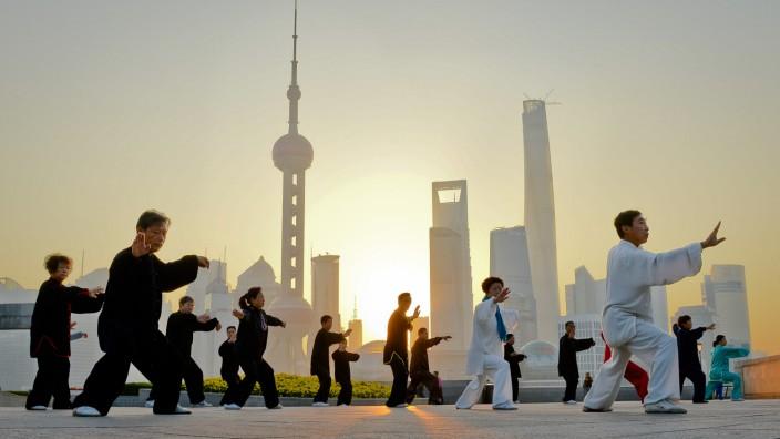 Frühsport in Shanghai
