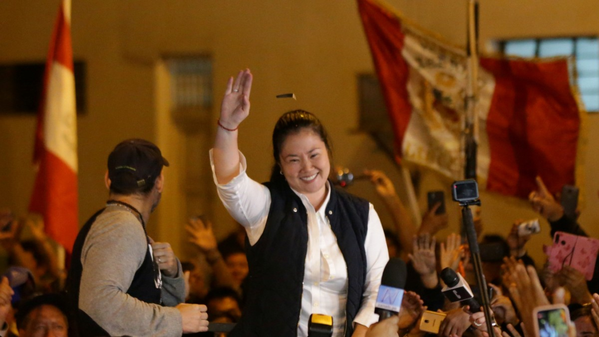 Peru: FP-Chefin Fujimori aus Gefängnis entlassen