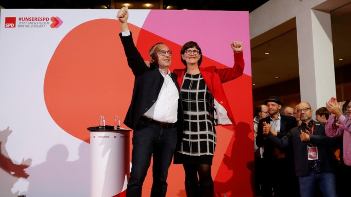 SDP announces new leadership in Berlin