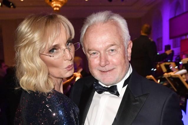 Wolfgang Kubicki mit Ehefrau Annette Marberth-Kubicki beim 68. Bundespresseball 2019 im Hotel Adlon Kempinski. Berlin,