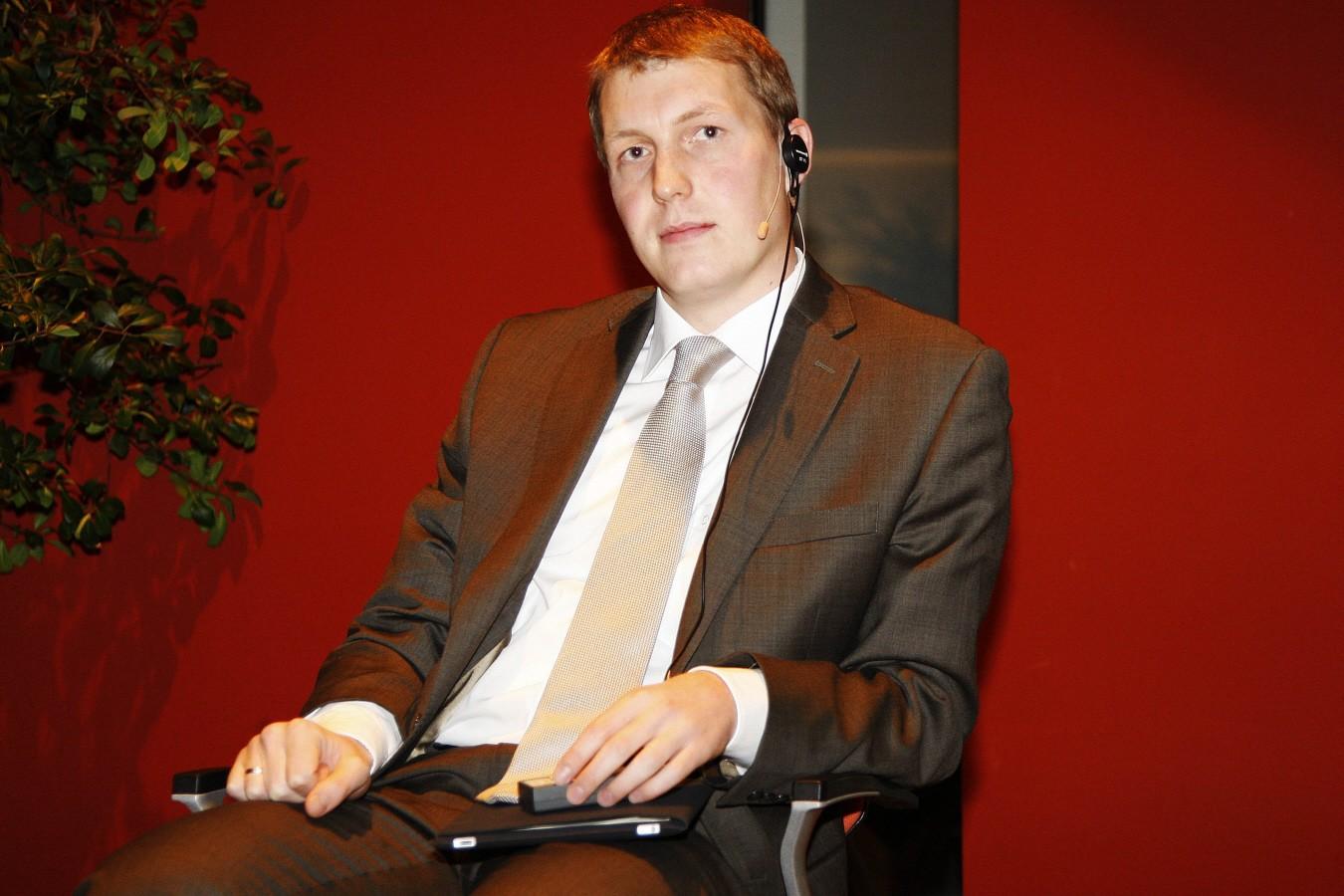 Robert Schlegel im Jahr 2010, als er noch in der Duma, dem russischen Parlament, saß und sich als engagierter Befürworter von Internetzensur einen Namen machte. (Foto: picture-alliance/Eventpress)