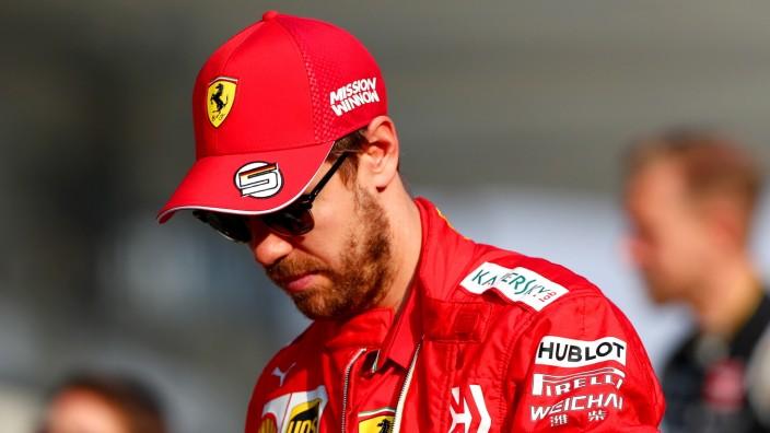 Formel 1: Ferrari-Pilot Sebastian Vettel in Abu Dhabi