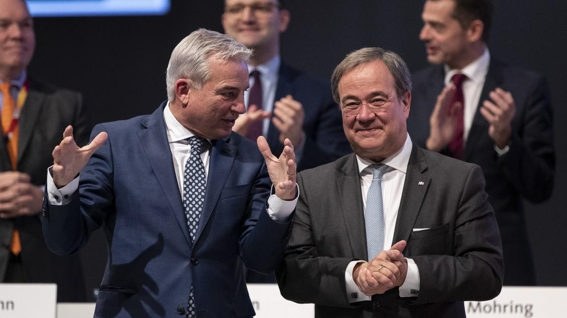 CDU-Führung debattiert über Minderheitsregierung