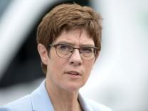 Kramp-Karrenbauer Grundrente SPD