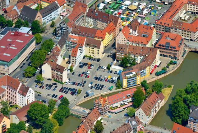 Luftbild; Augustinerhof