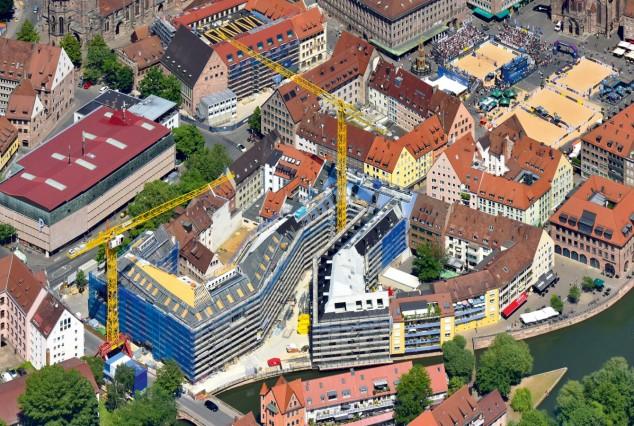 Luftbild: Hauptmarkt