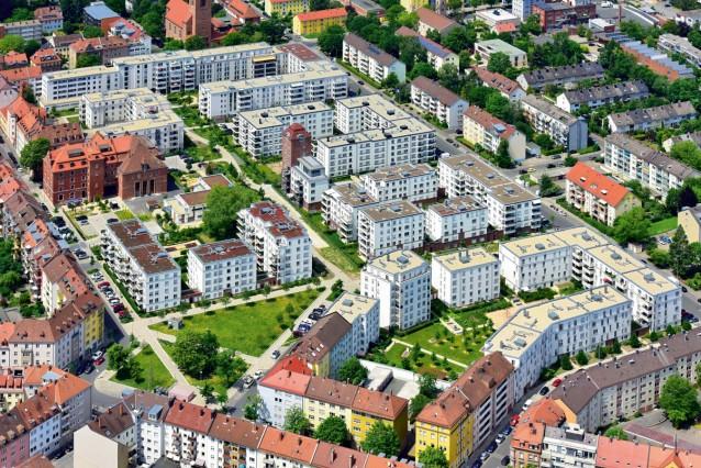 Luftbild: Nordstadtgärten
