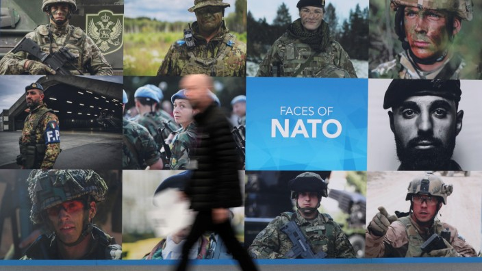Nato summit in Watford